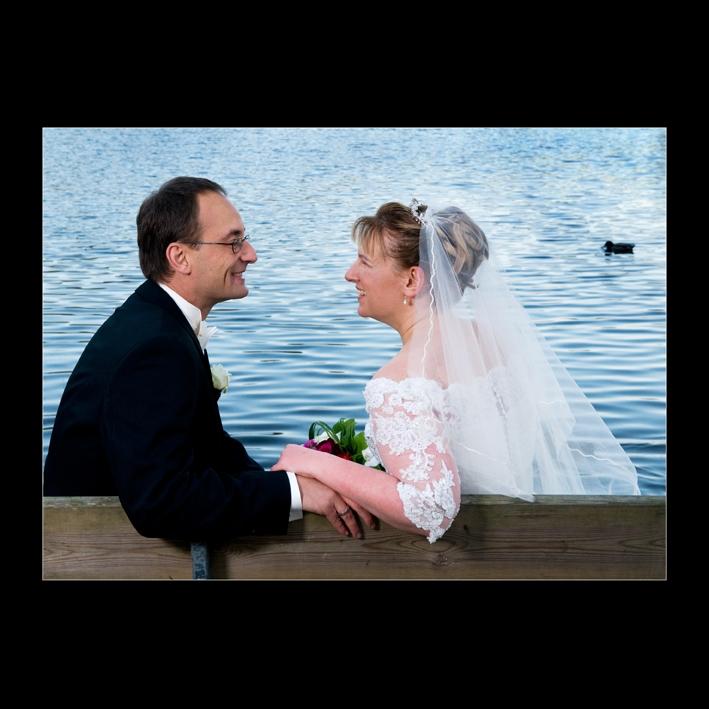 Brudepar i Brede ved Lyngby