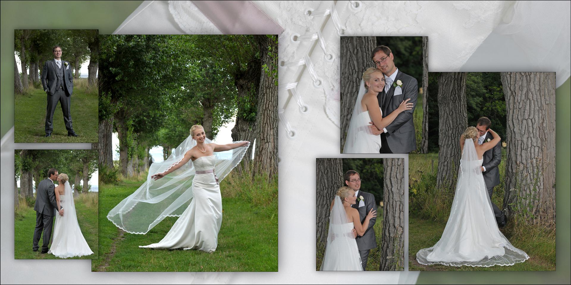 bryllupsbog wedding book design album bryllupsfotograf Foto Fotograf Peter Dahlerup Nordsjælland weddings-dk