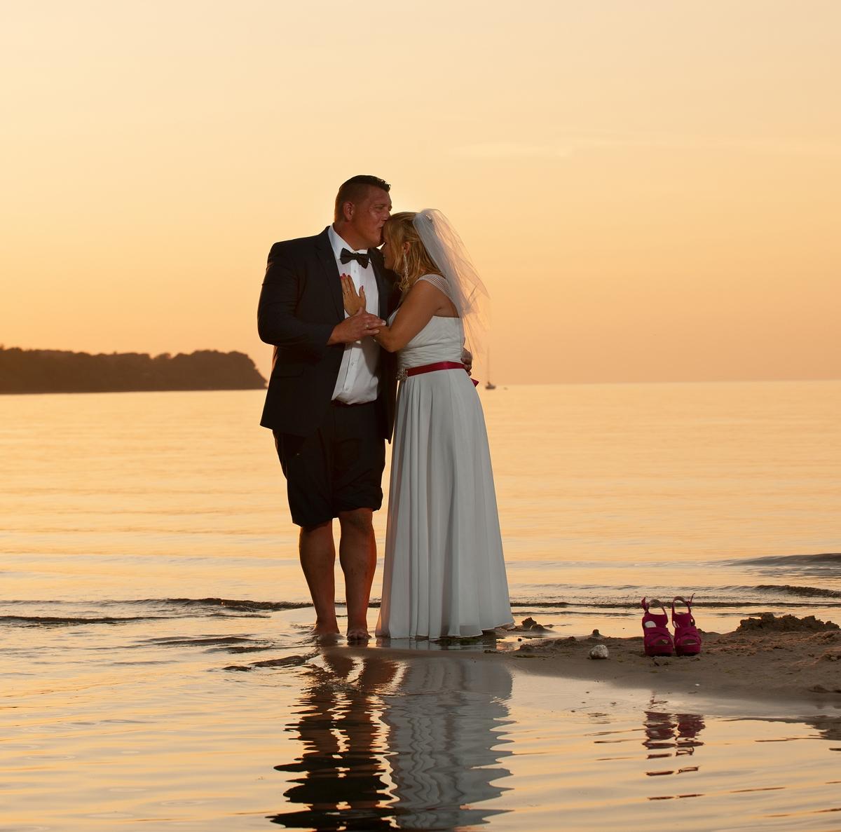 Romantiske og søde bryllupsbilleder