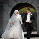 Brudepar på Kronborg