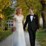 Norsk brudepar fotograferet af bryllupsfotograf i København Peter Dahlerup