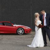 Bryllupsfoto på alternativ location