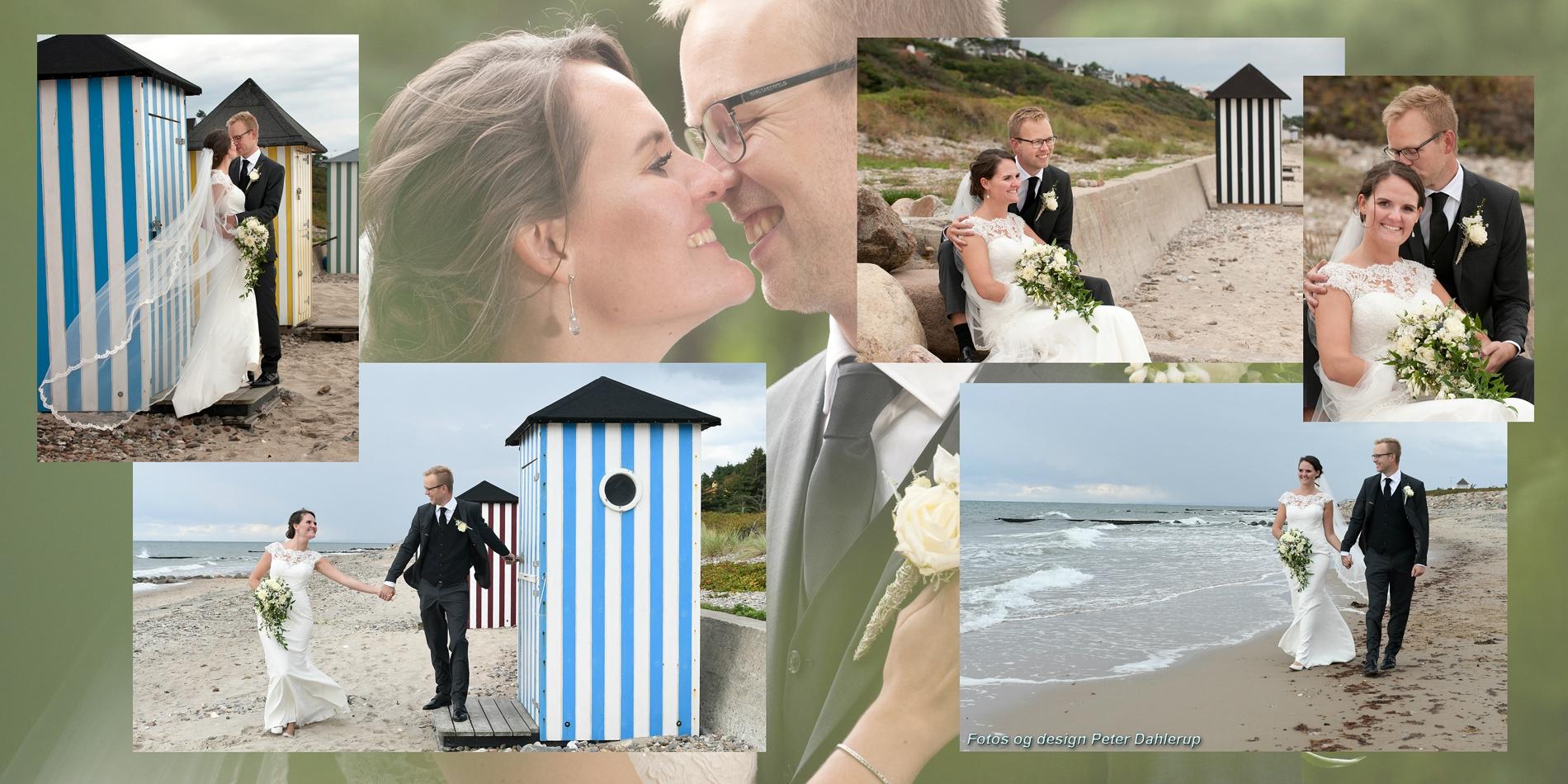 Bryllupsbog designet specielt til brudeparret