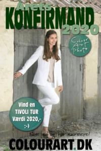 Konfirmand-tilbud med mulighed for at vinde en Tur i Tivoli til en værdi af 2020,- kr.